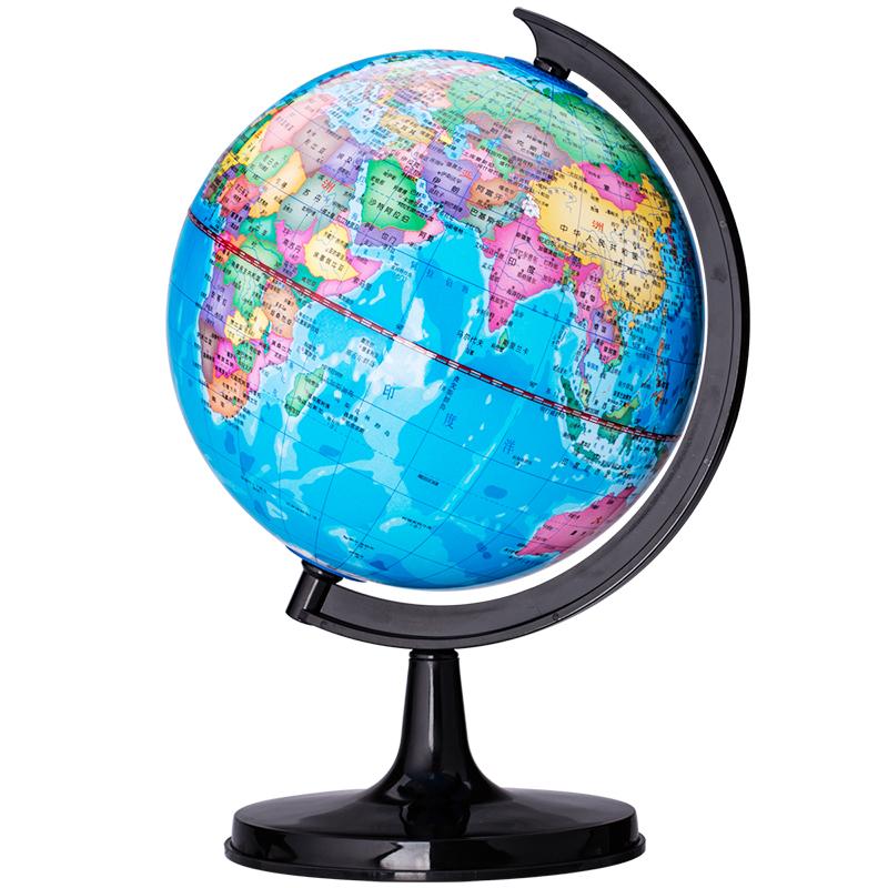 得力3031 办公教学Ф10.6cm旋转世界地球仪 教学研究之选 地球仪摆件推荐本店星座地球仪,可以做夜台灯使用哦