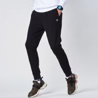 【低价直降,2件折上再打9折】361度男裤2018秋季新款针织收口小脚长裤宽松