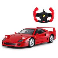 儿童玩具车模型USB充电小孩儿玩具法拉利F40遥控汽车