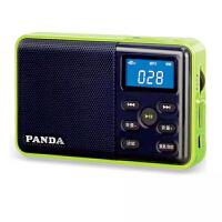 熊猫/PANDA DS-131 数码音响播放器 插卡音箱 立体声收音机 绿色