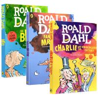 正版 好心眼儿巨人 查理和巧克力工厂 英文原版儿童绘本读物章节书 Roald Dahl 罗尔德达尔作品 The BFG