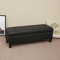 多功能换鞋凳鞋柜储物服装店沙发长条凳卧室床尾凳床榻欧式