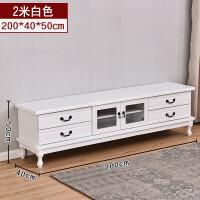 实木电视柜茶几组合现代简约小户型迷你中式客厅地柜主卧经济型 整装