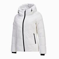 【79减50 叠加300减100】361度女装羽绒服外套冬季运动羽绒夹克女保暖运动上衣