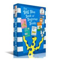 英文原版进口 苏斯博士 The Big Blue Book of Beginner Books 6书合集 精装 家长们