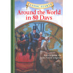 Classic Starts: Around the World in 80 Days《环游世界80天》 ISBN 9781402736896