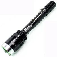 户外T6灯珠白光手电 强光充电500米远射 X8大功率手电筒