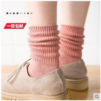 堆堆袜秋冬季袜子女日系复古中筒袜学院风棉袜女袜学生袜韩版棉袜
