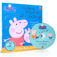 顺丰发货 Peppa Pig Nursery Rhymes and Songs Picture Book and CD粉红猪小妹:儿歌带CD 幼儿睡前歌谣 英文原版童书