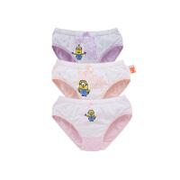 【3件6折】小猪班纳儿童内裤三角裤女童短裤儿童底裤中大童5-14岁