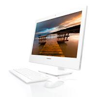 联想扬天一体台式电脑S800-37(白色),24英寸液晶显示器 联想一体机 联想一体电脑 内置Wifi无线/摄像头 扬