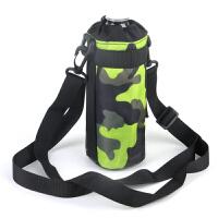 男女运动水壶包多功能户外保温壶包斜挎包战术水杯包挂包迷彩