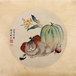 C177  曹克家《猫趣图》