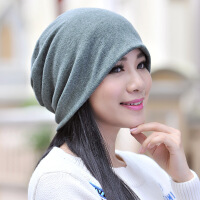 帽子男冬天韩版百搭包头帽女士秋冬季时尚青年加绒保暖围脖套头帽