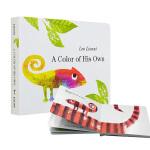 【中商原版】吴敏兰推荐绘本 A Color of His Own 自己的颜色 纸板书 英文原版 四度凯迪克奖得主李欧李