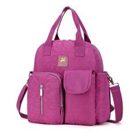 潮流妈咪包双肩妈妈包母婴包外出多功能大容量宝妈背包时尚书包