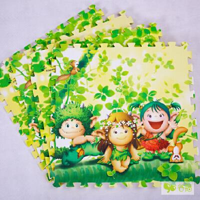 【当当自营】谷播 韩国多丽森林精灵卡通拼接爬爬垫 新生儿游戏地垫