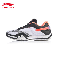 李宁羽毛球鞋女鞋2020新款综合训练鞋网面低帮运动鞋AYTQ022