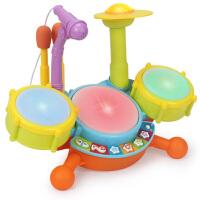 �和�玩具女孩男孩益智多功能女童生日周�q�Y物架子鼓