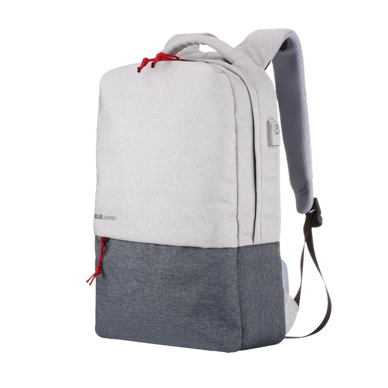 休闲双肩电脑包潮流男女15.6寸14多功能充电背包大学高中学生书包 发货周期:一般在付款后2-90天左右发货,具体发货时间请以与客服协商的时间为准
