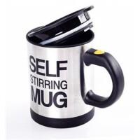 自动搅拌咖啡杯带盖电动懒人欧式咖啡杯套装不锈钢马克杯