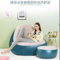 懒人沙发单人阳台午睡充气小沙发床卧室创意可折叠懒人椅子