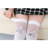 夏季薄款女童长筒袜过膝儿童中筒半截腿袜堆堆袜子高筒3-12岁宝宝