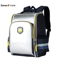 卡拉羊小学生书包护脊男女学生韩版卡拉羊小学生双肩包背包