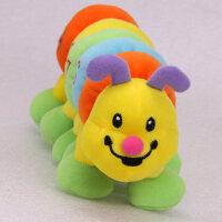 伊诗比蒂布偶婴儿玩具0-1岁益智认知数字六节虫虫宝宝玩具BT-3202