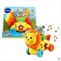 伟易达动物齿轮小狮子儿童启蒙宝宝早教益智学习音乐声光玩具礼物