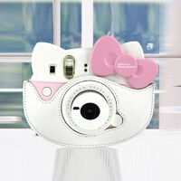 富士拍立得instax mini Hello Kitty 40周年相机包 一次成像皮包