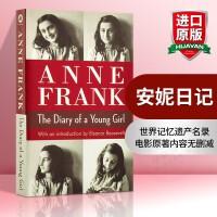 安妮日记 英文原版 进口英语书籍 The Diary of a Young Girl 安妮弗兰克 同名电影原著 经典名
