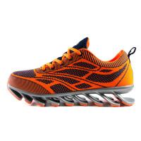 金贝勒潮流男鞋跑步鞋 男款飞线针织运动鞋网面透气休闲鞋增高鞋 1573S