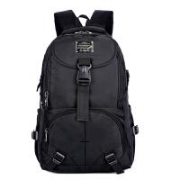双肩包男中学生电脑商务包 出差中老年旅行防泼水背包大容量