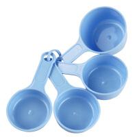 法克曼 塑料 量杯4件套 带刻度量勺 烘焙用量勺 42247
