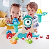 Hape大眼怪数字天平3-6岁加减运算数字认知早教亲子互动儿童宝宝益智玩具含收纳袋