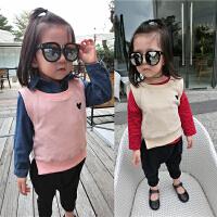韩国男女儿童纯棉修身马甲背心春秋婴幼儿宝宝保暖上衣马夹