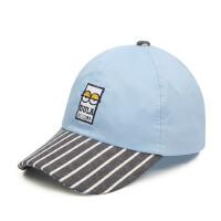 儿童遮阳帽子宝宝鸭舌帽男女童硬檐帽小孩棒球帽棉布帽