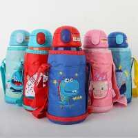 儿童保温杯幼儿园小学生杯子宝宝防摔吸管壶便携水壶茶水分离喝水