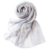 披肩沙滩纱巾防晒韩国妈妈丝巾女士雪纺长丝巾围巾女