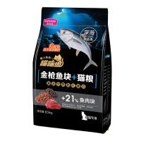 麦富迪喵喵鱼猫粮成猫金枪鱼块猫粮双拼粮8.5kg