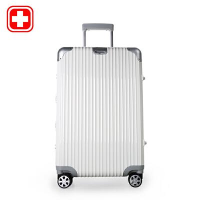 瑞士军刀 万向轮行李箱商务登机旅行箱24寸密码锁拉杆箱硬箱默认发圆通快递 支持货到付款 礼品卡支付