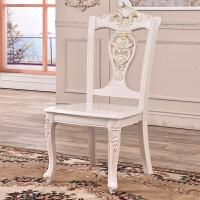 欧式餐桌椅组合大理石圆形餐桌简欧实木客厅户型家用餐厅餐台饭桌