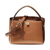 纯色手拎包包女新款斜挎包女休闲包时尚单肩包手提小包
