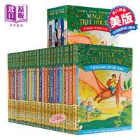 新版 英文原版 神奇树屋套装 Magic Tree House 1-28 Boxset 神奇书屋全套 儿童英语自主阅读