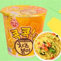 【包邮】韩国进口 不倒翁芝士味杯面方便面泡面 55g*5杯