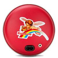 彩虹暖手器318暖手宝中号电热暖宝宝暖床暖手充电式(金色/蓝色随机发货)