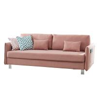 北欧沙发床多功能折叠坐卧两用客厅简约现代小户型布艺全拆洗沙发 2米以上