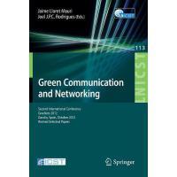 【预订】Green Communication and Networking: Second Internationa
