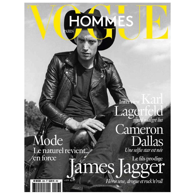 杂志订阅 VOGUE HOMMES 法国法文原版 男性时尚杂志 年订2期